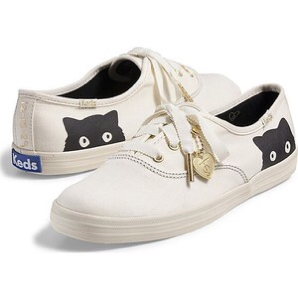 Keds Shoes Iso Keds Taylor Swift Sneaky Cat Sneakers 75 Poshmark